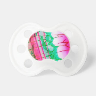 Psychedelic Tie Dye Quartz Pacifier