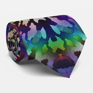 Psychedelic Tie-Dye Wild Tribal Abstract Tie