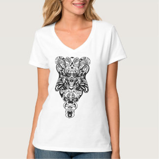 Psychedelic Totem Tee Shirt