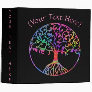 "Psychedelic Tree of Life 2"" Vinyl Binder"
