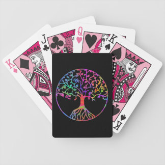 Psychedelic Tree of Life Bicycle Playing Cards