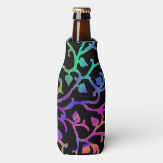 Psychedelic Tree of Life Bottle Cooler