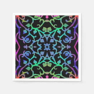 Psychedelic Tree of Life Disposable Napkin