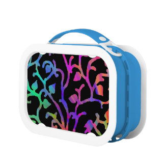 Psychedelic Tree of Life Lunch Boxes