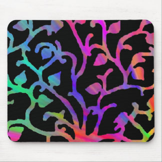 Psychedelic Tree of Life Mouse Pad