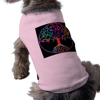Psychedelic Tree of Life Pet Tee