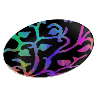 Psychedelic Tree of Life Plate