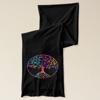 Psychedelic Tree of Life Scarf