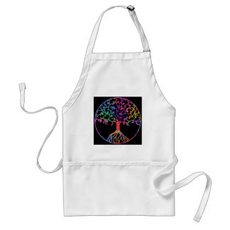 Psychedelic Tree of Life Standard Apron