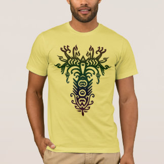 psychedelic tree T-Shirt