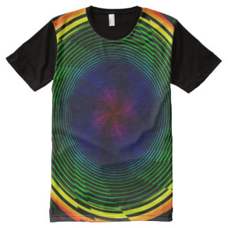 Psychedelic Twirl All-Over-Print T-Shirt