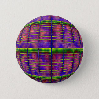 Psychedelic UFO 2 Inch Round Button