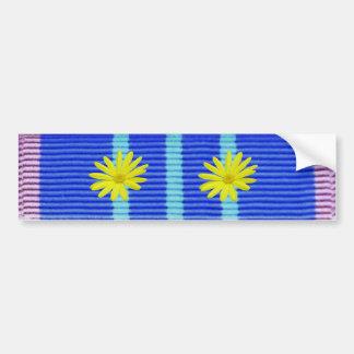 psychedelic version - Vietnam service ribbon Bumper Sticker