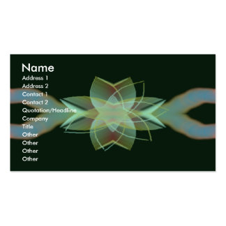 Psychedelic Visuals Pack Of Standard Business Cards
