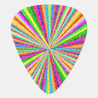 Psychedelic Vortex Guitar Pick