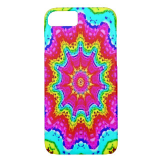Psychedelic Watercolor Pattern iPhone 7 Case