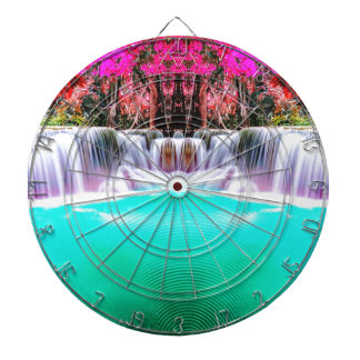 Psychedelic Waterfall Dartboards