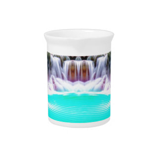 Psychedelic Waterfall Drink Pitchers