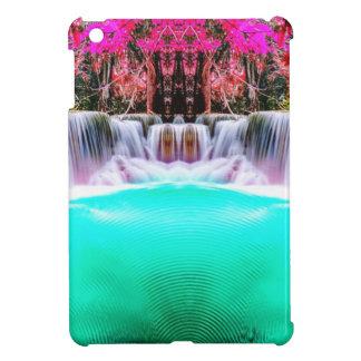 Psychedelic Waterfall iPad Mini Cover