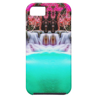 Psychedelic Waterfall iPhone 5 Covers
