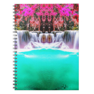 Psychedelic Waterfall Notebooks
