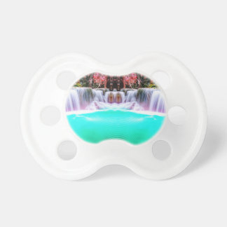 Psychedelic Waterfall Pacifier