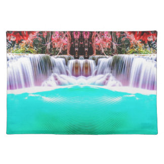 Psychedelic Waterfall Placemat