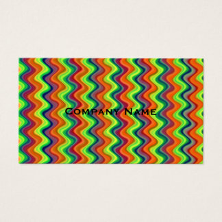 Psychedelic Waves Business Card