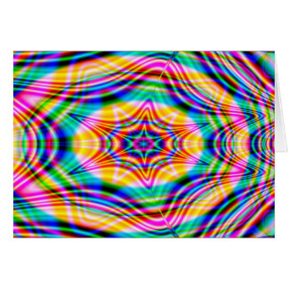 Psychedelic Waves: Card