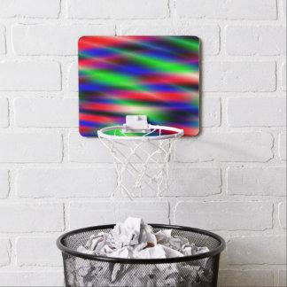 Psychedelic Waves Mini Basketball Hoop