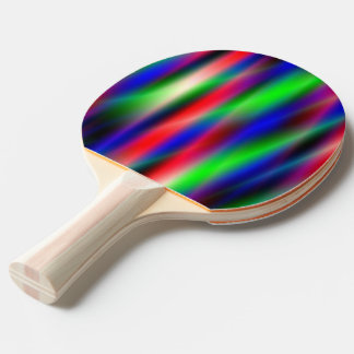 Psychedelic Waves Ping Pong Paddle