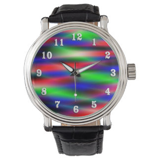 Psychedelic Waves Watch