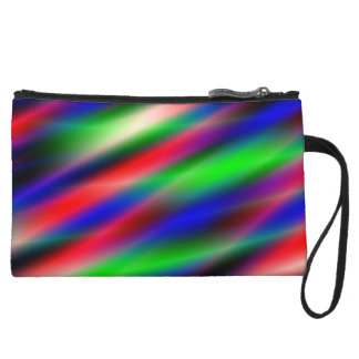 Psychedelic Waves Wristlet