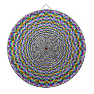 Psychedelic Web Dartboard