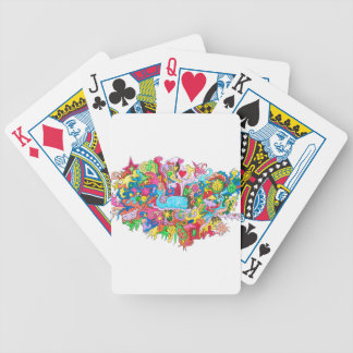 Psychedelic Whale Poker Deck