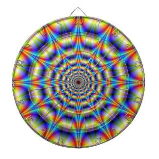 Psychedelic Wheel Dartboard