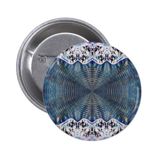 Psychedelic Winter 2 Inch Round Button