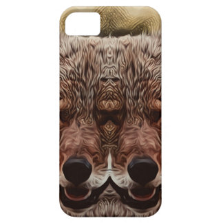 Psychedelic Wolf iPhone 5 Cases