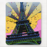 Psychedelic World: Eiffel Tower, Paris France A1