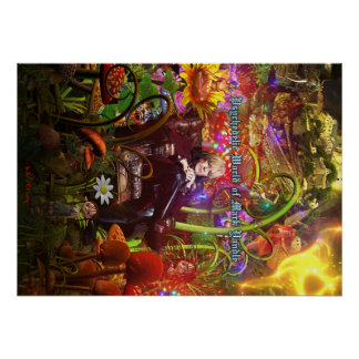 Psychedelic World Of Mark Yandle Poster