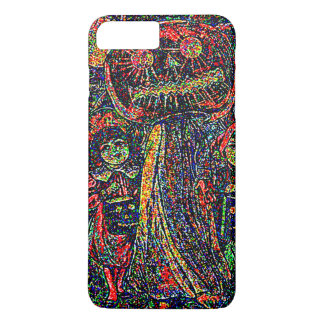 Psychedlic Children Ghost Jack O' Lantern Pumpkin iPhone 7 Plus Case