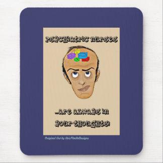Psychiatric Nurses-Humor Cartoon Mouse Pad