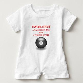 psychiatrist baby romper