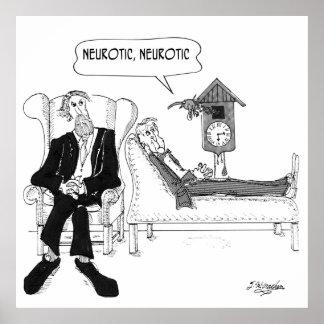 Psychiatrist Cartoon 2199 Poster