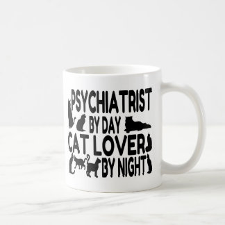 Psychiatrist Cat Lover Coffee Mug