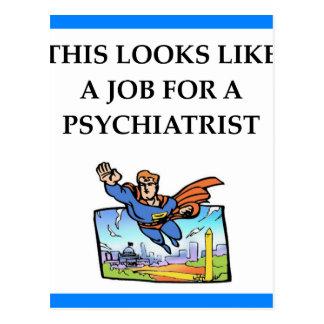 PSYCHIATRIST POSTCARD