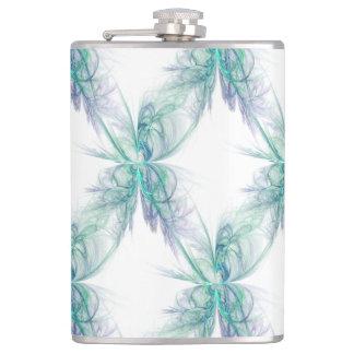Psychic Energy Fractal Hip Flask