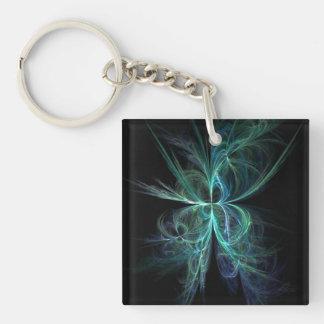 Psychic Energy Fractal Keychain