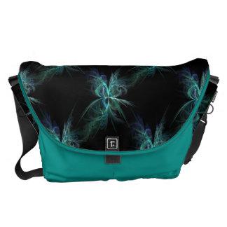 Psychic Energy Fractal Messenger Bag