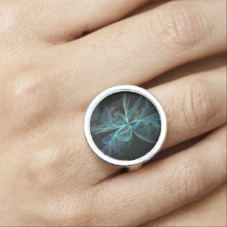 Psychic Energy Fractal Ring